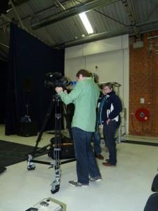 Cameraploeg van RTV Blauwestad